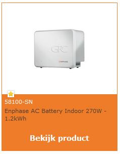 Enphase AC batterij
