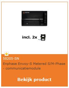 Enphase Envoy S monofasig net