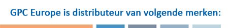 GPC Europe is distributeur van volgende merken: