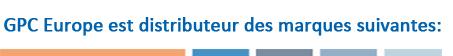 GPC Europe est distributeur des marques suivantes: