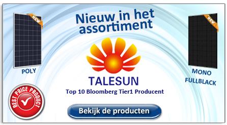 Talesun nieuw in het assortiment
