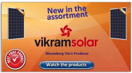 Vikramsolar new in the assortment